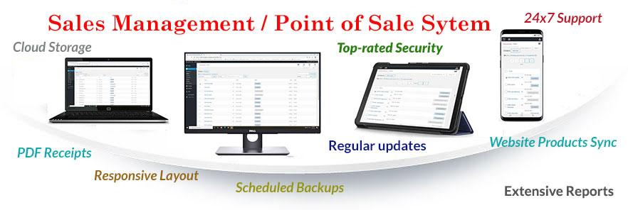 Sales management - Point of Sales system